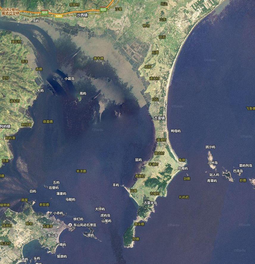 百度卫星图